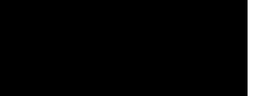 Media evolutions logga, svart text