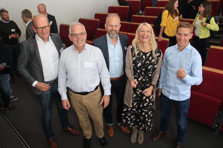 Talare och arrangörer bakom Innovationsgillet